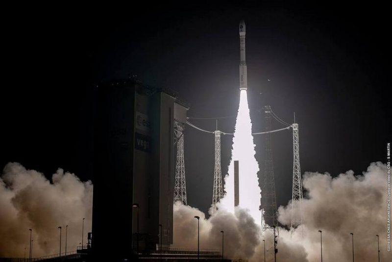 Ще один успішний старт ракети-носія Vega