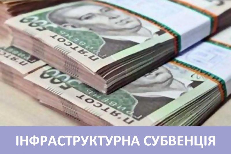 174 млн грн – один з найбільших обсягів субвенції у 2019 році