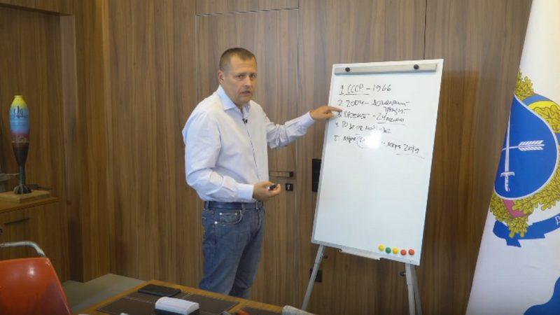 Мер Дніпра спілкується з містянами через youtube