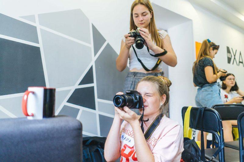 У Торецьку молодь навчать фотографувати