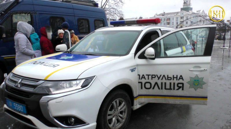 Акція від патрульної поліції у Краматорську