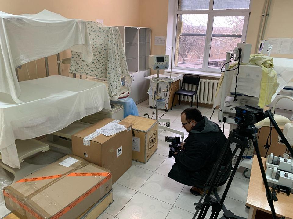 Слов'янськ придбав новий апарат штучної вентиляції легень для новонароджених