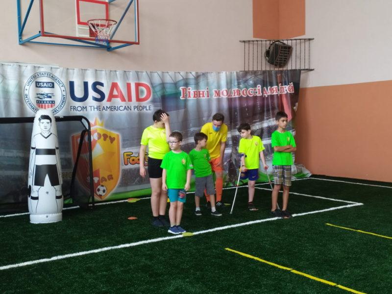 Футбол для особливих дітей – реальність завдяки «Футістару»