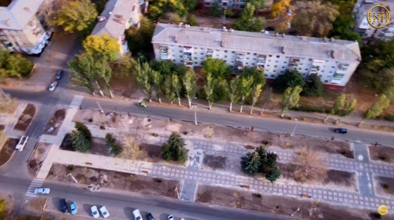 Реконструкція бульвару Машинобудівників