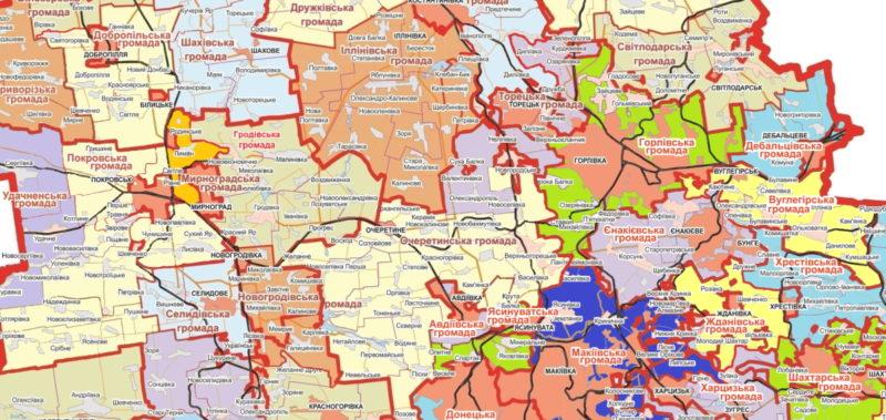 Визначено механізм правонаступництва в нових громадах та районах