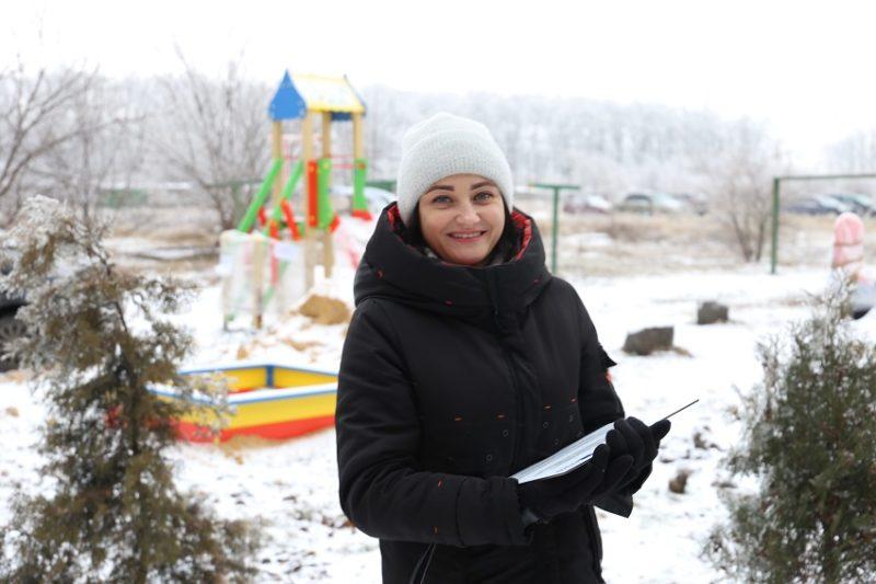 Проєкт Дитячий майданчик «Мильні бульбашки» в рамках громадського бюджету міста Волновахи
