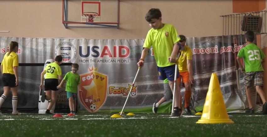Футбольна академія FootyStar – унікальна спортивна секція для «особливих» дітей