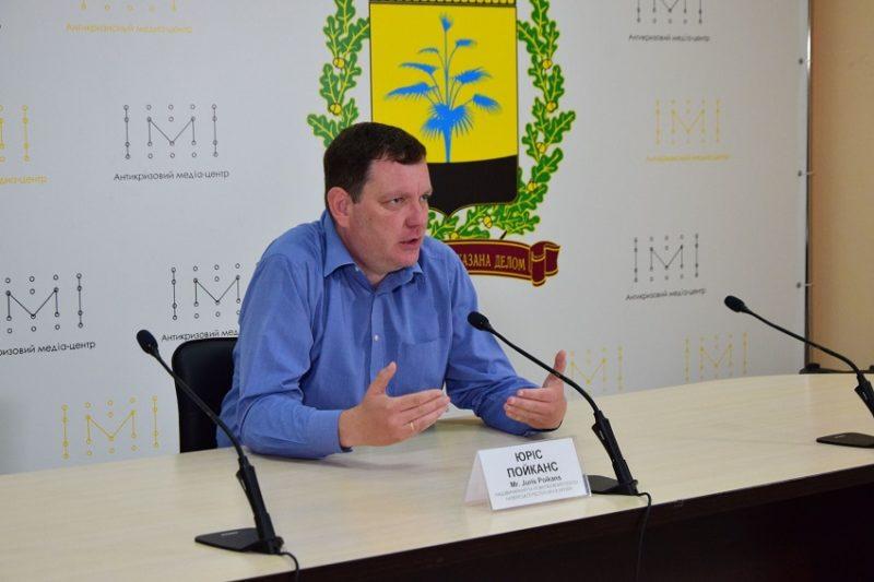 АКМЦ-online: Брифінг Юріса ПОЙКАНС   Juris POIKĀNS Надзвичайного та Повноважнгог Посла Латвійської Республіки в Україні