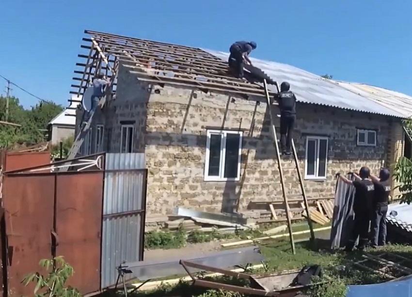 Рятувальники продовжать відновлення пошкодженого війною житла на Донеччині